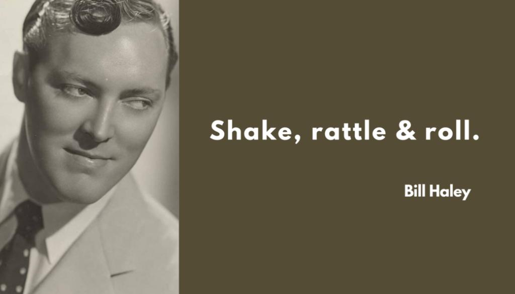 shake rattle